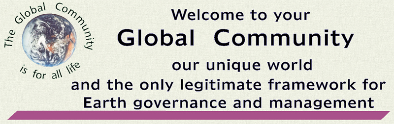 Visit the original website of the Global Community organization